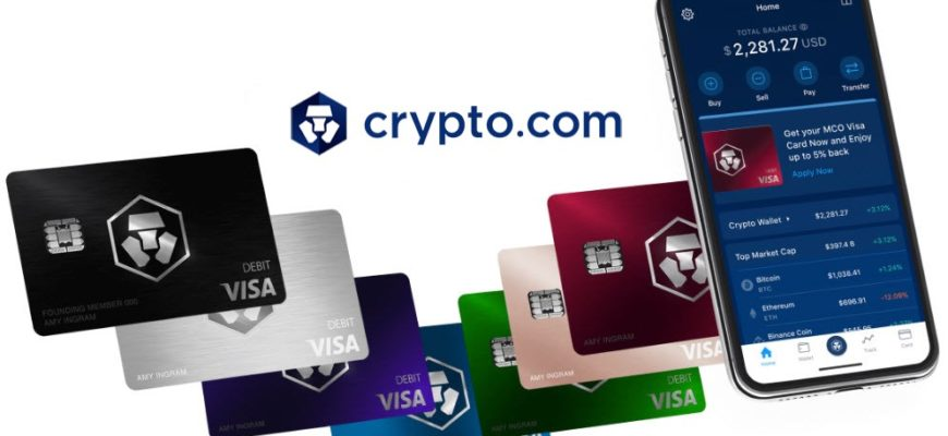 Карта Visa MCO Crypto.com теперь поддерживается в Apple, Google Pay