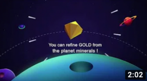Gold CryptoGalaxy