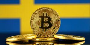 Биткоин ненадолго превратился в национальную валюту Швеции